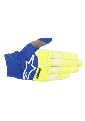 RACEFEND GLOVES 557 YELLOW FLUO BLUE