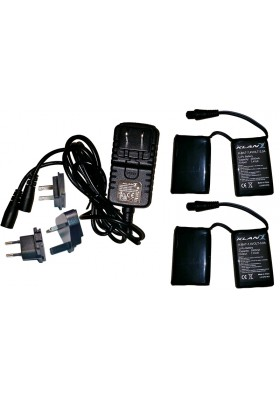 KLAN BATTERY/CHARGER KIT 7,4V 3A K-KIT-BAT-7,4V-3,0A