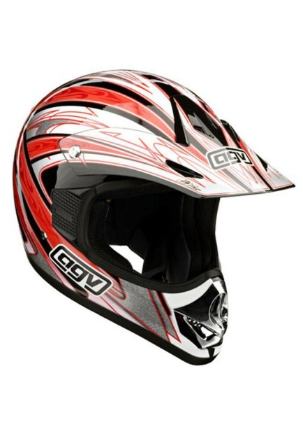 AGV RC5 FLASH RED