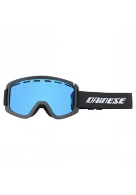 FREQUENCY GOGGLES U76 BLACK BLUE-STEEL
