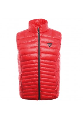 PACKABLE DOWNVEST MAN Y45 HIGH-RISK-RED