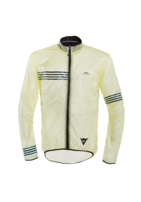 AWA WIND JACKET Z30 TENDER YELLOW BLACK IRIS