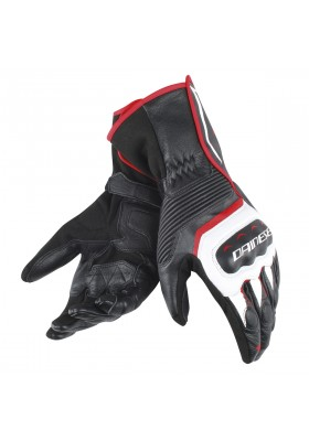 ASSEN GLOVES A66 BLACK WHITE LAVA-RED