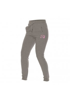 COLOR NEW LADY PANTS MELANGE GRAY FUCHSIA