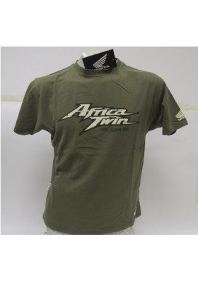 T-SHIRT HONDA OLIVE VINTAGE TEE AFRICA TWIN