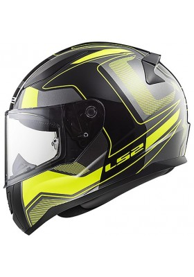 FF353 RAPID CARRERA BLACK HI-VIS YELLOW