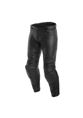 ASSEN LEATHER PANTS 604 BLACK ANTHRACITE
