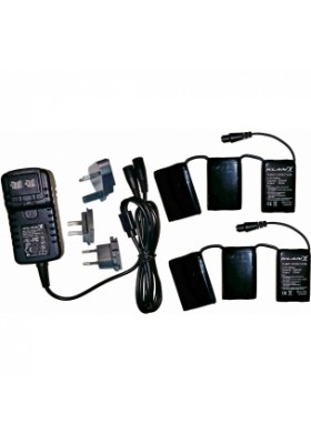 KLAN BATTERY KIT K-KIT-BAT-12V-3,0A PER GUANTI E CALZE