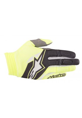 AVIATOR GLOVES 551 YELLOW FLUO ALPINESTARS