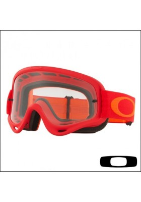 OAKL NEW O-FRAME RED ORANGE CLEAR (7029-37)