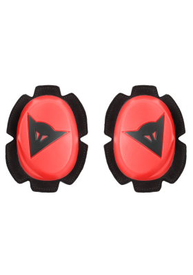 PISTA KNEE SLIDER 779 FLUO-RED BLACK