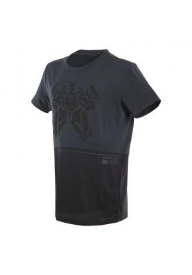 T-SHIRT LAGUNA SECA 623 ANTHRACITE BLACK