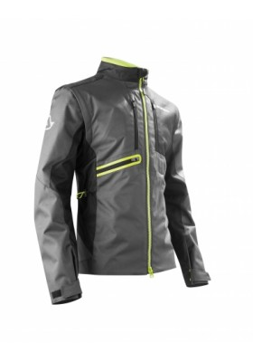 ENDURO ONE JACKET 318 NERO/GIALLO FLUO