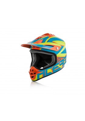 CASCO IMPACT JUNIOR 3.0 243 BLU/ARANCIO