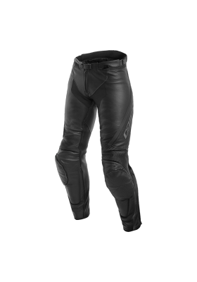 ASSEN LADY LEATHER PANTS 604 BLACK ANTHRACITE