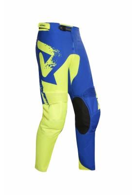PANTS MX HYOGA 274 YELLOW BLUE