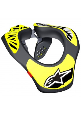 YOUTH NECK SUPPORT YNS BLACK YELLOW