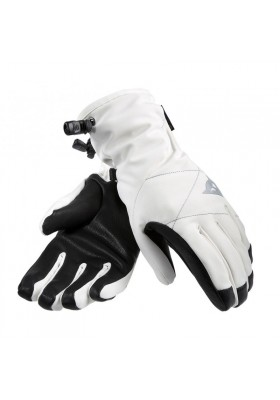 ALPHA D-DRY BLACK/WHITE GLOVES