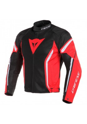 AIR CRONO 2 TEX JACKET 678 BLACK RED WHITE