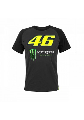 MOMTS316720 T-SHIRT VR46 MAN MANICA RAGLAN MONSTER