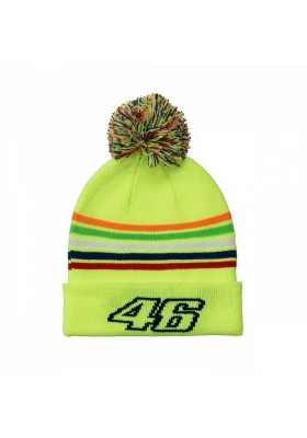VRKBE307828 BEANIE KID YELLOW VR46 THE DOCTOR
