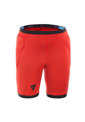 SCARABEO SAFETY SHORTS BLACK RED