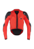 SCARABEO SAFETY JACKET BLACK RED