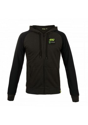 MOMFL316920 FLEECE MAN VR46 MONSTER BLACK