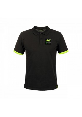 MOMPO316820 POLO BLACK VR46 MAN