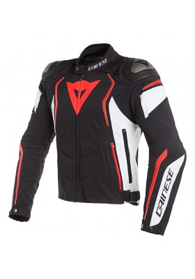 DYNO TEX JACKET N32 BLACK WHITE FLUO-RED