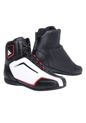 SCARPA RAPTORS AIR SHOES A66 BLACK WHITE LAVA-RED
