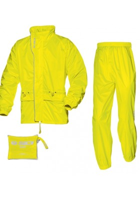 SET TUTA ANTIPIOGGIA K-OUT 3 FLUO GIALLO