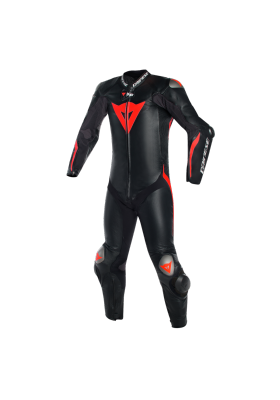 MUGELLO R D-AIR 1PC PERF. SUIT P75 BLACK FLUO-RED