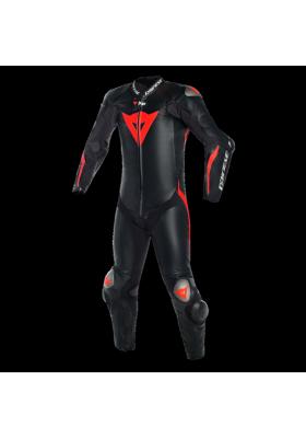 MUGELLO R D-AIR 1PC PERF. SUIT P75 BLACK FLUO-RED