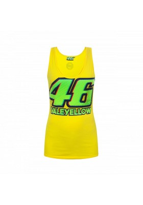 TANK TOP VR46 WOMAN YELLOW 205601