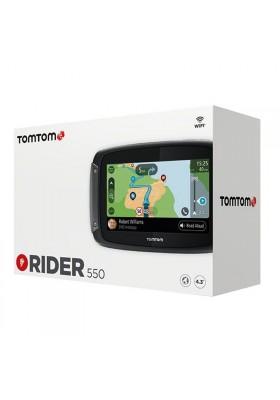 TOM TOM RIDER 550 NAVIGATORE MAPPE MONDO