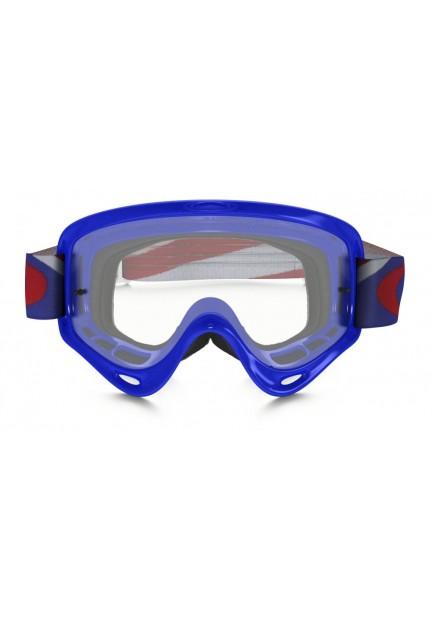 OAKL NEW O-FRAME HERITAGE RACER BLUE CLEAR (7029)