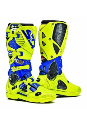 CROSSFIRE 3 SRS TC222 BLUE YELLOW FLUO