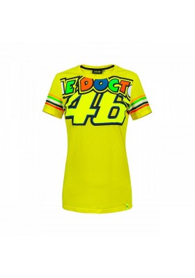 VRWTS307001 T-SHIRT YELLOW THE DOCTOR WOMAN