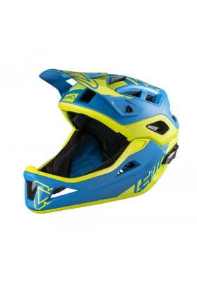 LEATT HELMET DBX 3.0 ENDURO BLUE LIME