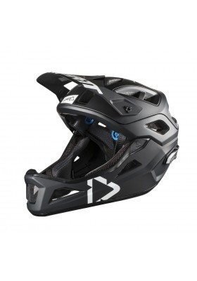 LEATT HELMET DBX 3.0 ENDURO BLACK WHITE