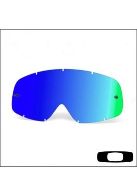 OAKL VIS NEW O-FRAME IRIDIUM BLACK ICE BLUE (101-132-001)