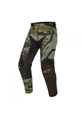 ALPINES. RACER TACTICAL PANTS 9006 BLACK GREEN CAM