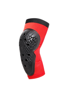 SCARABEO ELBOW GUARDS BLACK RED