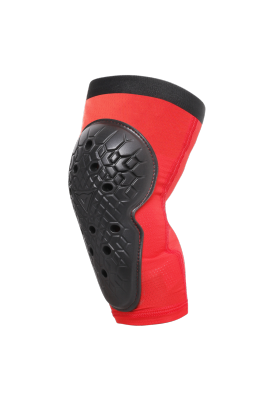 SCARABEO KNEE GUARDS BLACK RED