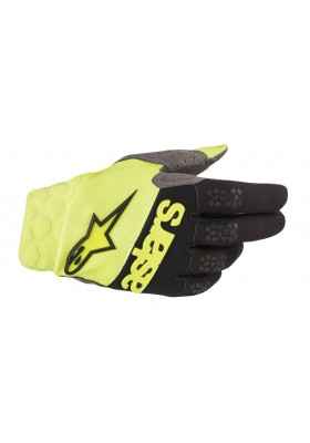 RACEFEND GLOVES 551 YELLOW FLUO BLACK