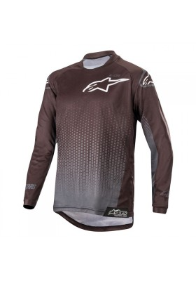 ALPINES. RACER GRAPHITE JERSEY 104 BLACK ANTHRACITE