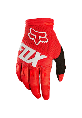 DIRTPAW RACE GLOVE FOX RED (22751-003)