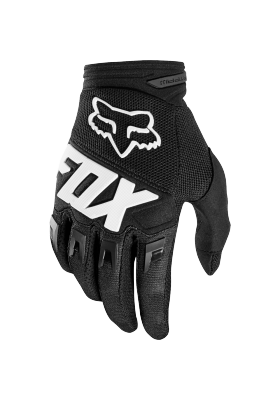 DIRTPAW RACE GLOVE FOX BLACK (22751-001)