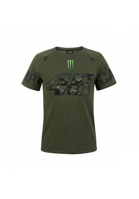 MOMTS317508 T-SHIRT VR46 MAN MONSTER CAMP CAMO